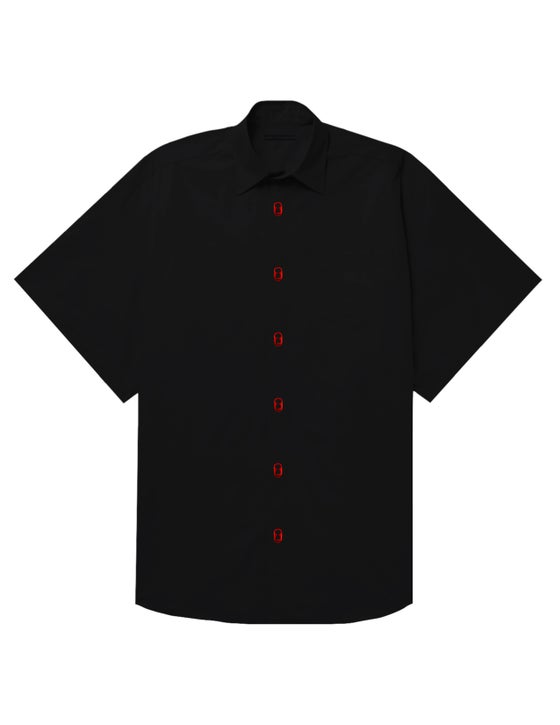 Image of OVERSIZED SODA TAB SHIRT (RED)