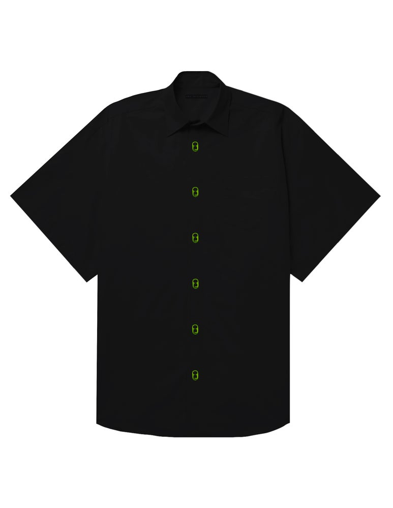 Image of OVERSIZED SODA TAB SHIRT (LIME)