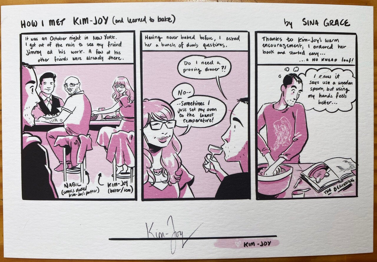 Image of Getting it Together Kim-Joy exclusive variant w/ signed bookplate