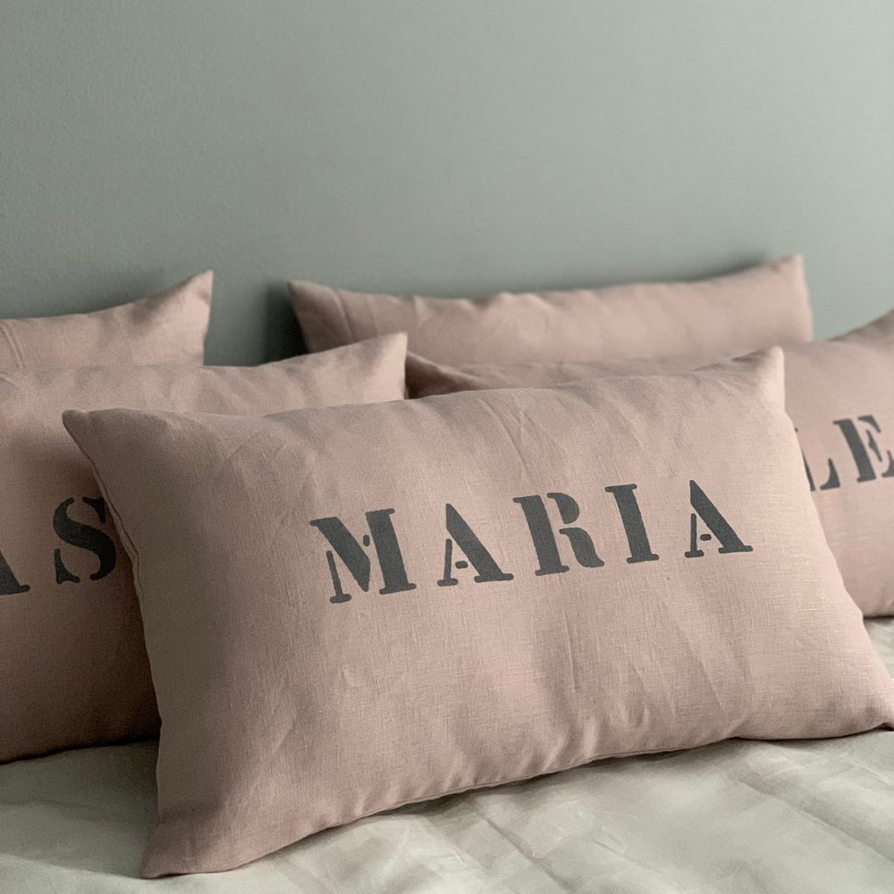 Image of Personalized cushion