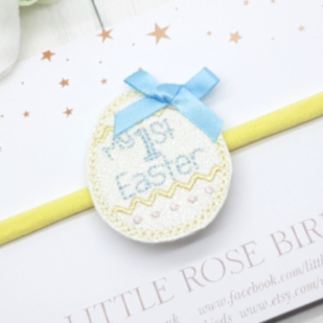 Image of My 1st Easter Bow