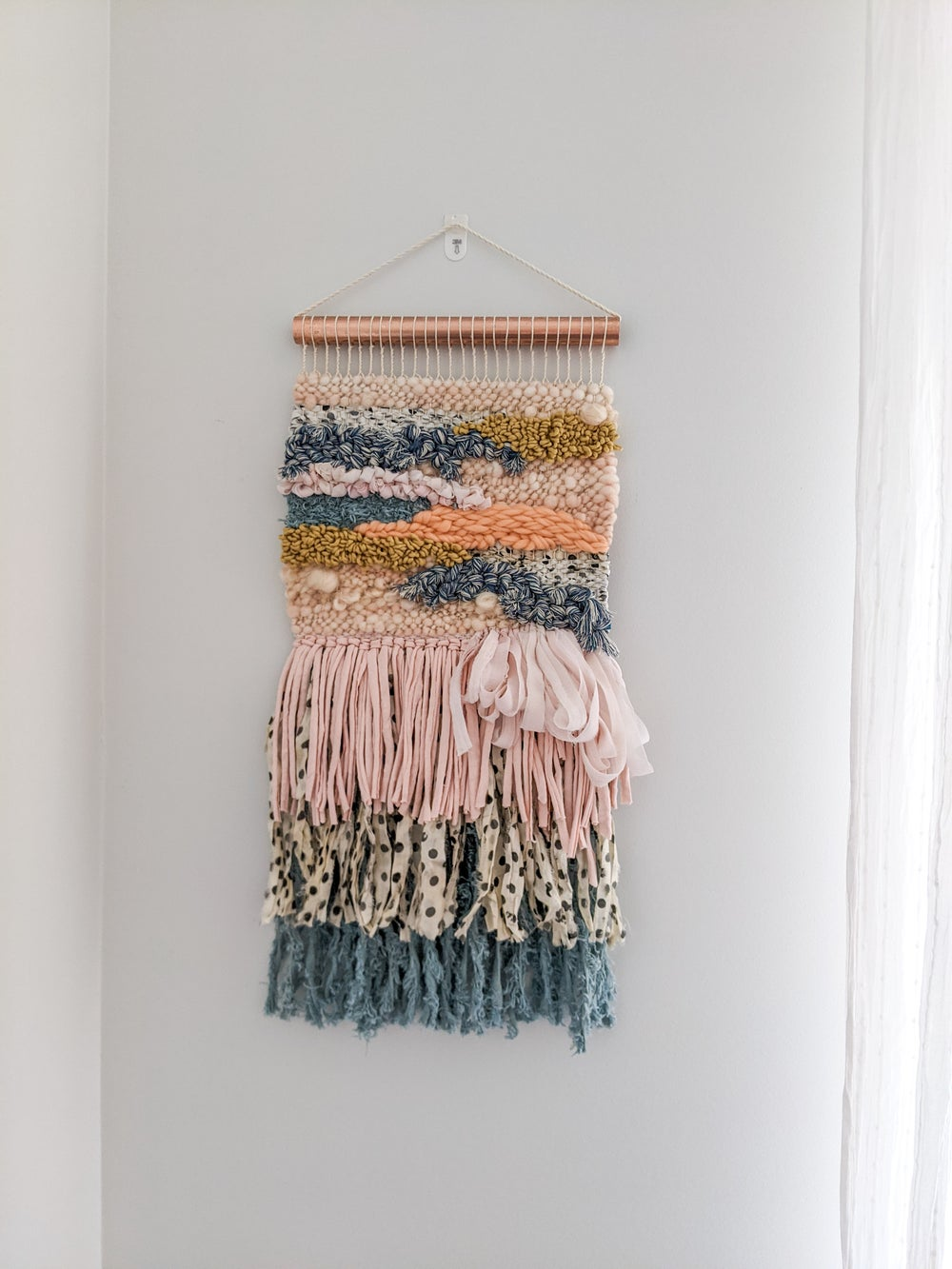 Image of Woven Wall Hanging - LUCIE