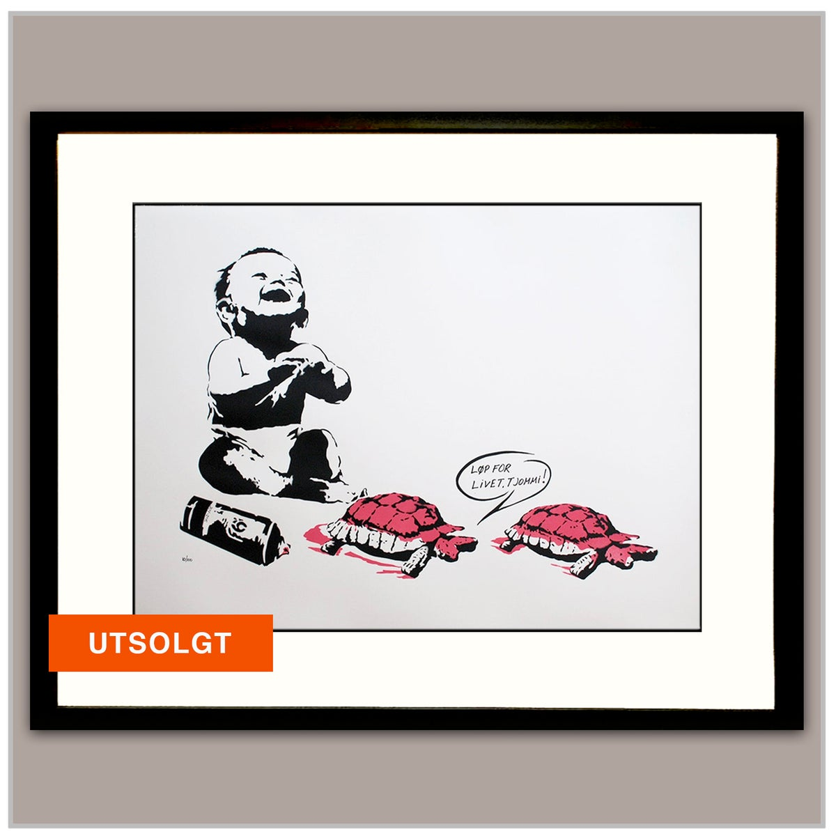 Image of LØP FOR LIVET, TJOMMI !