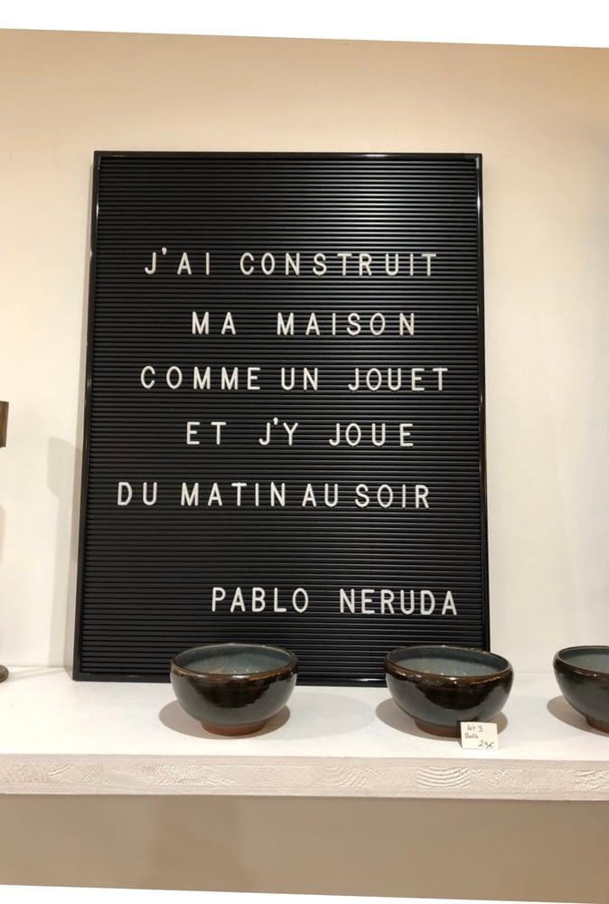 Image of Panneau message avec lettres House Doctor