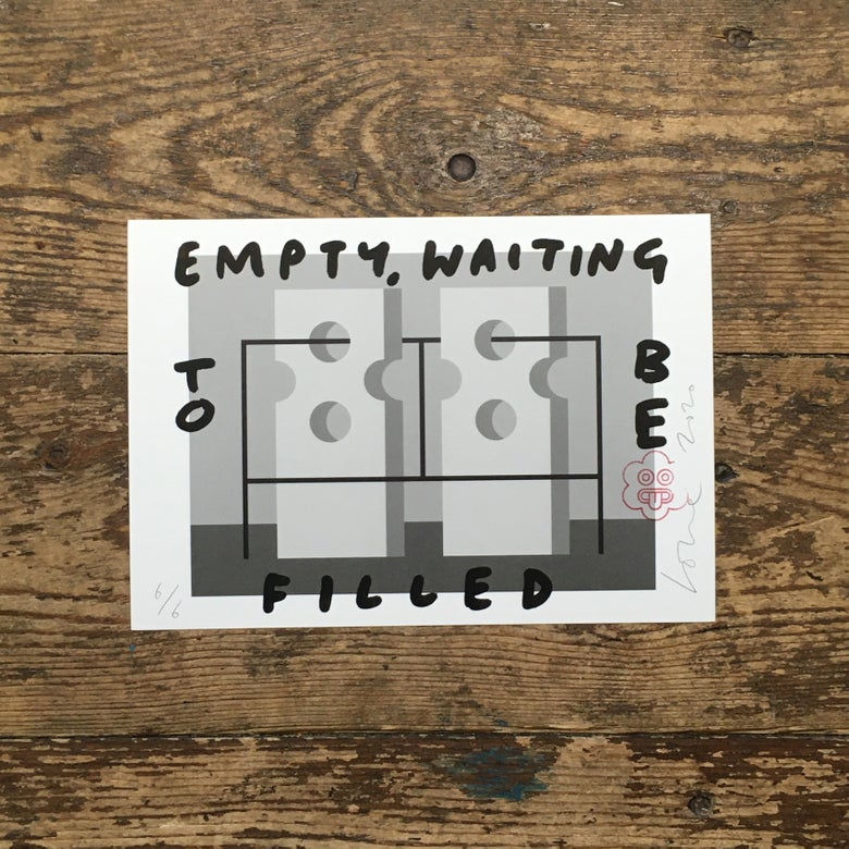 Image of Empty, Waiting To Be Filled