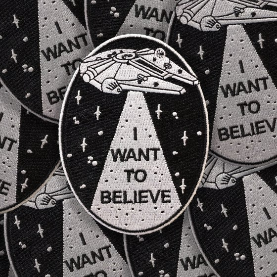 Image of I Want To Believe patch