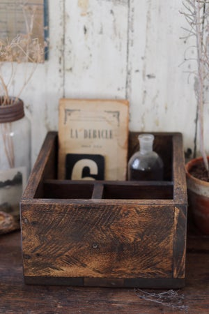 Image of Small Wooden Crate/Cubby