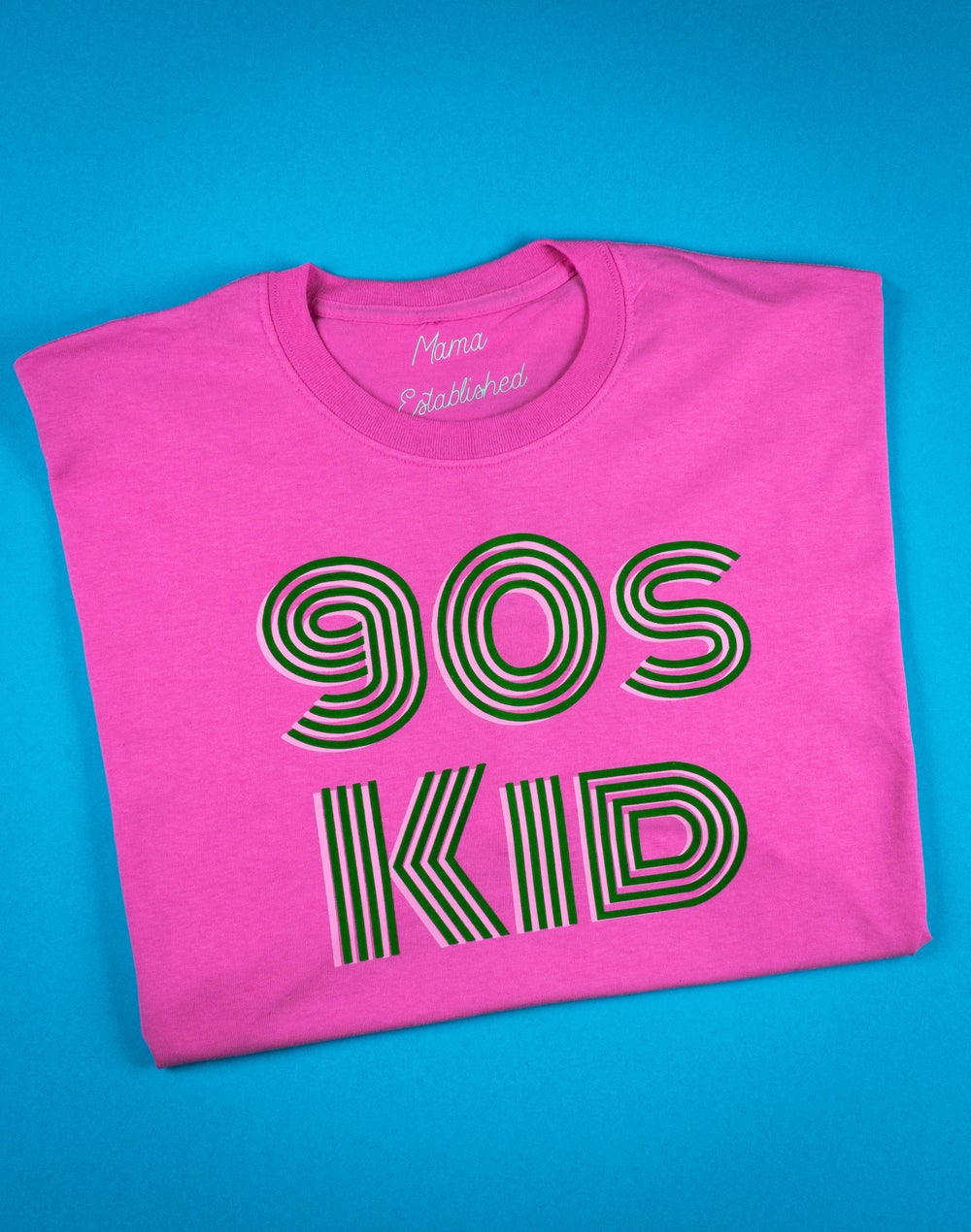 Image of 90s kid retro tee