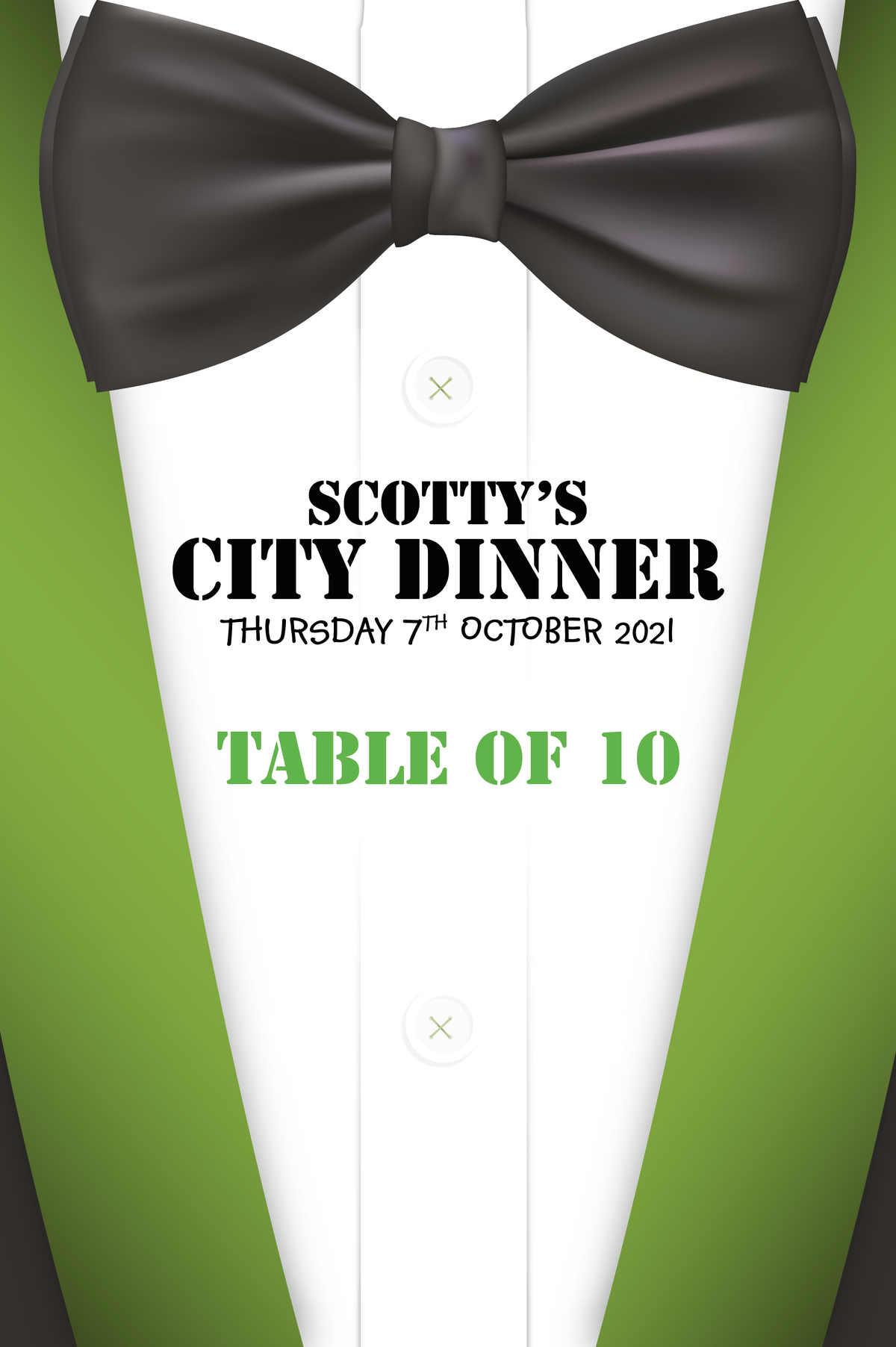 Image of Scotty's City Dinner - Table of 10