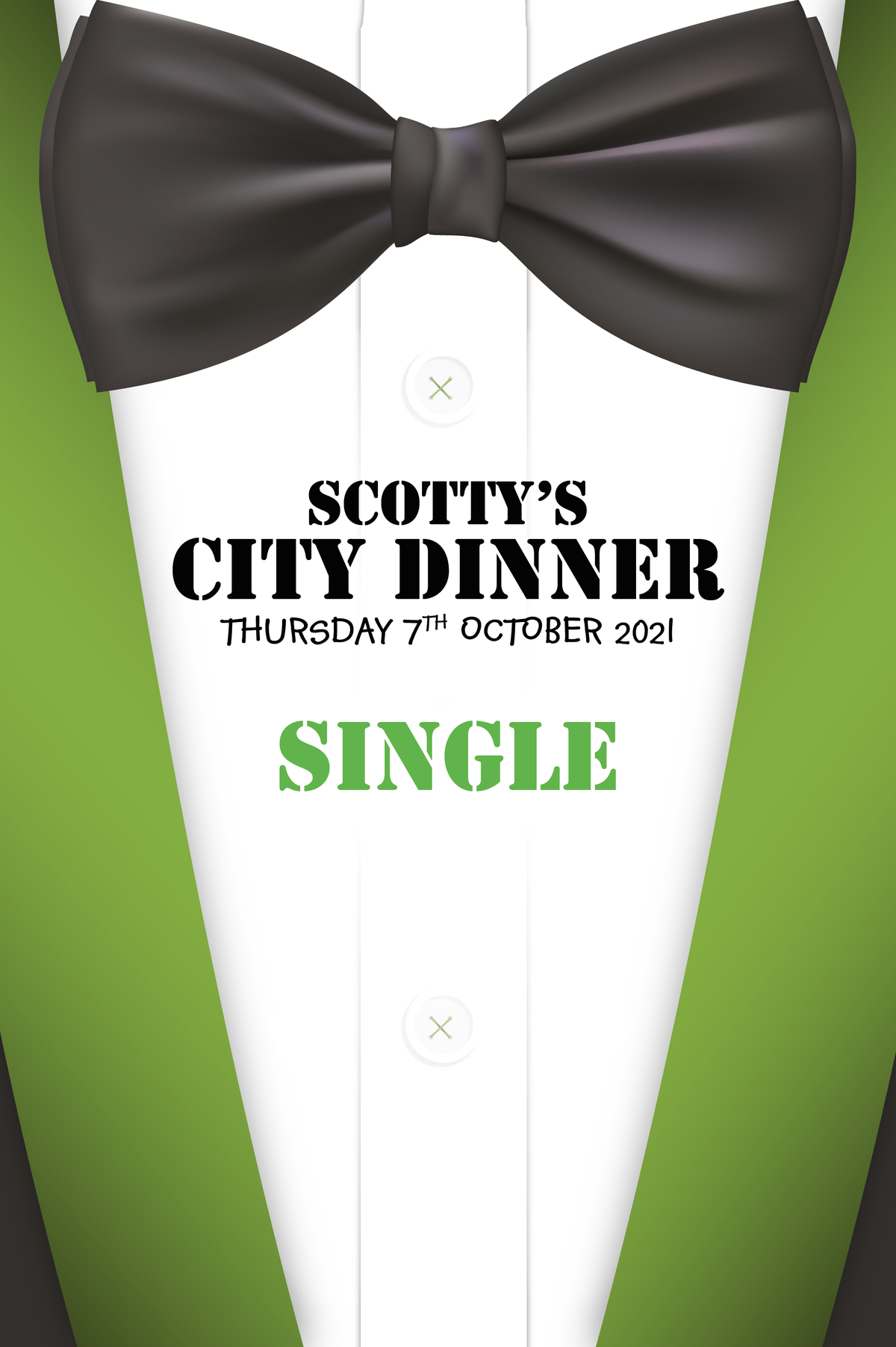 Image of Scotty's City Dinner - Individual Ticket
