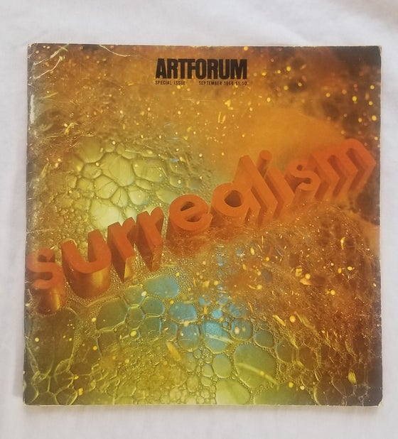 "Image of Ed Ruscha ""SURREALISM"" Art Forum cover 2"