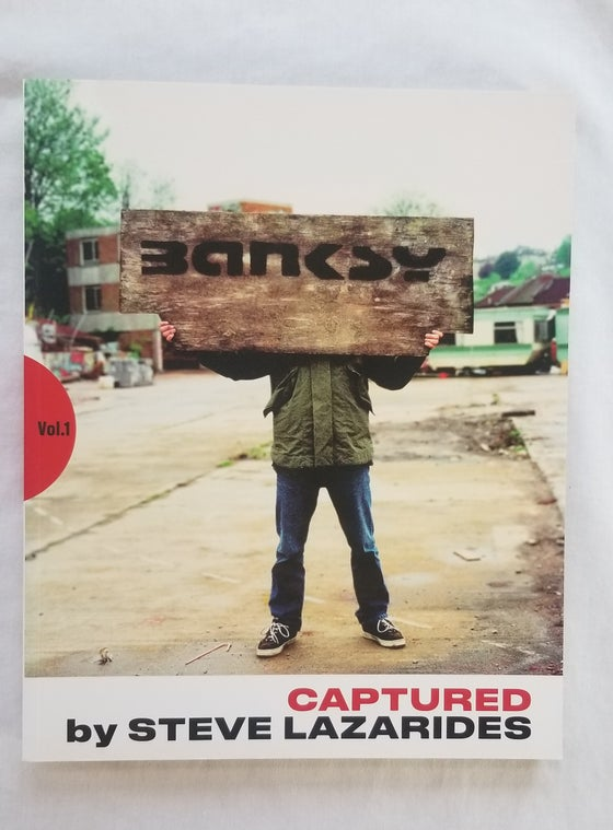 Image of BANKSY Captured by Steve Lazarides (First Edition)