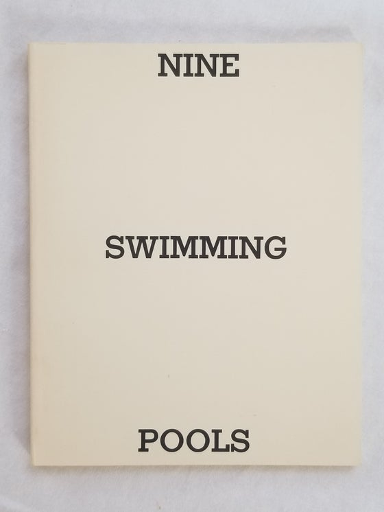 Image of Edward Ruscha Nine Swimming Pools and Broken Glass 1st ed