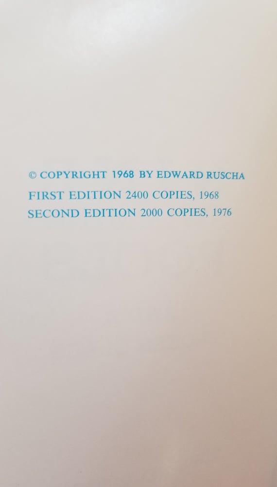 Image of Edward Ruscha Nine Swimming Pools and Broken Glass 1st ed