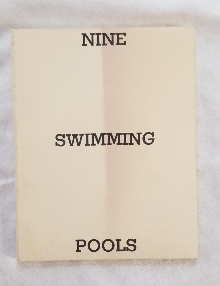 Image of Edward Ruscha Nine Swimming Pools and Broken Glass 1st ed 2