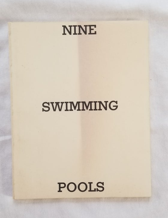 Image of Edward Ruscha Nine Swimming Pools and Broken Glass 1st ed 2