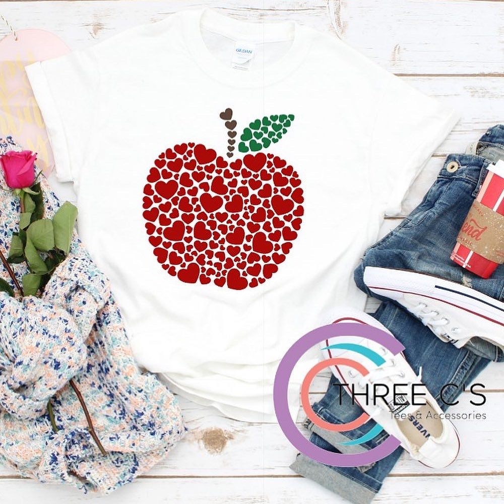Image of Apple of my Hearts Tee
