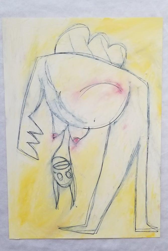 Image of Adam Handler Polly Girl (Yellow)
