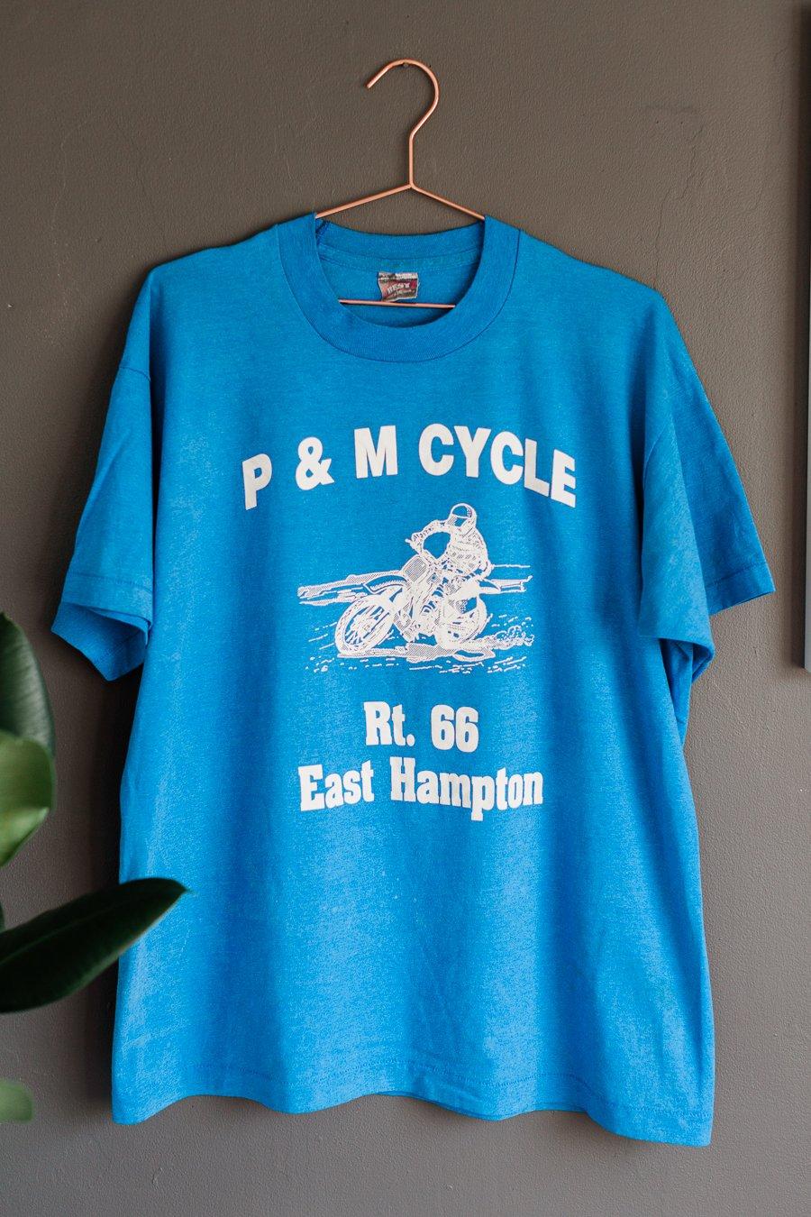 Image of 90's P & M Motorcycle Tee