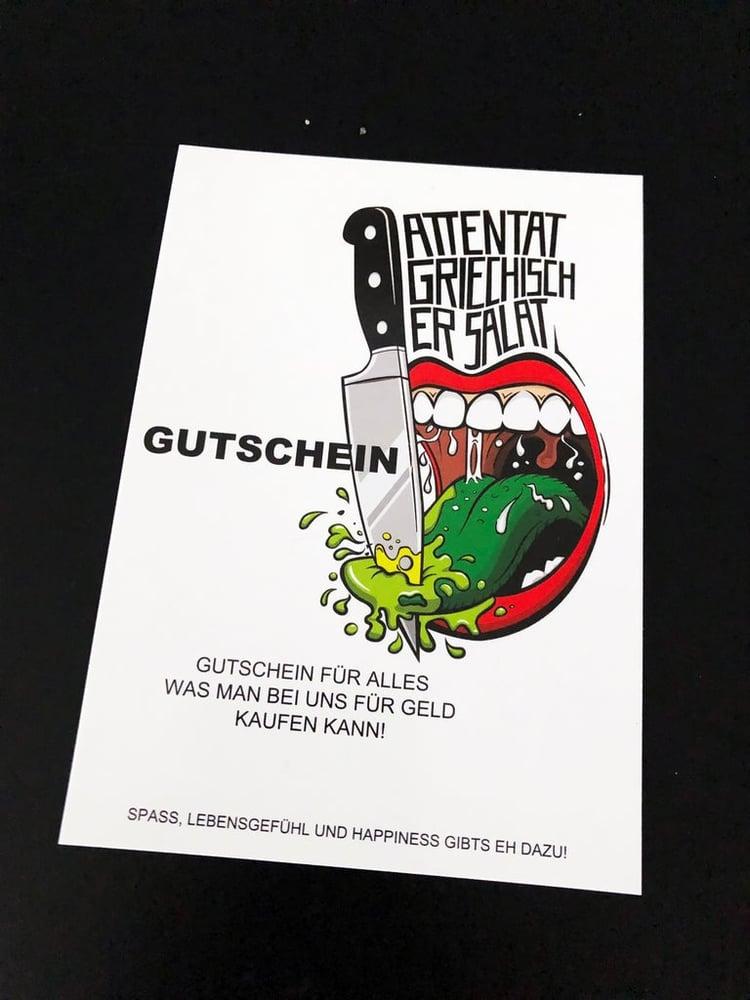 Image of Attentat Griechischer Salat Gutschein