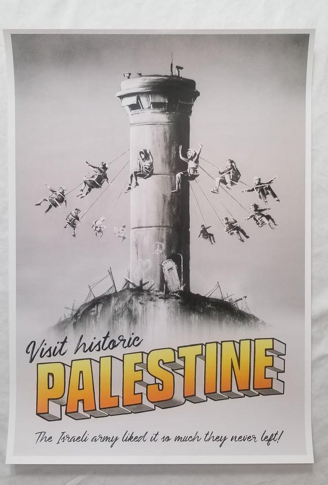 Image of Banksy Palestine Poster