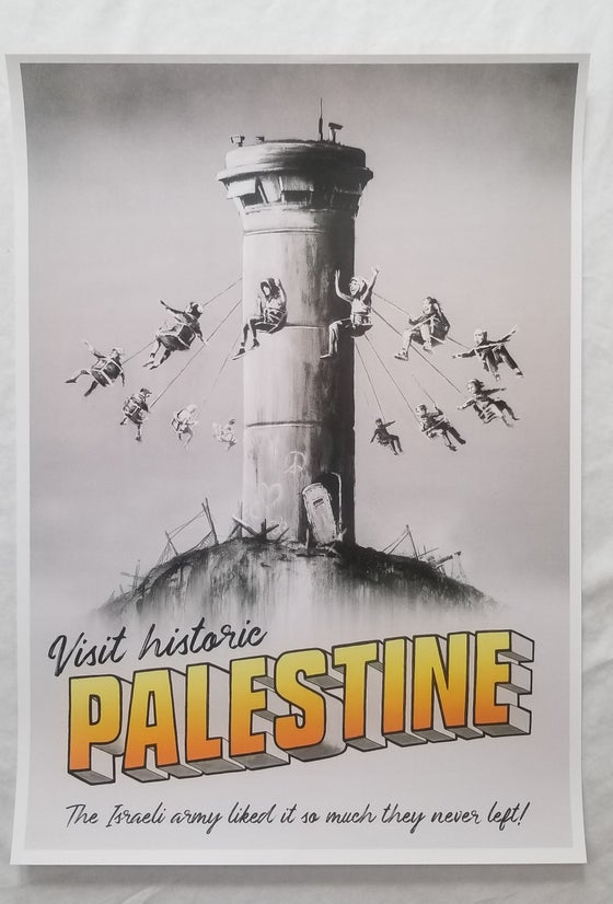 Image of Banksy Palestine Poster