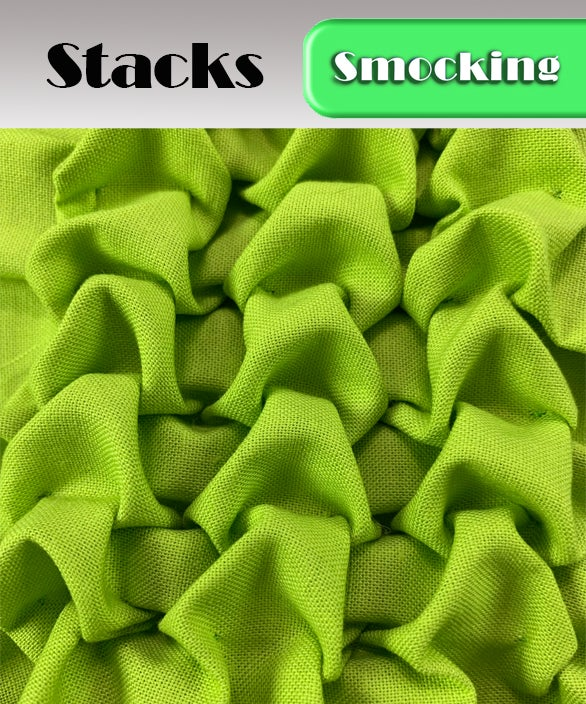 PDF - Heirloom Smocking Pattern - 18 - Stacks