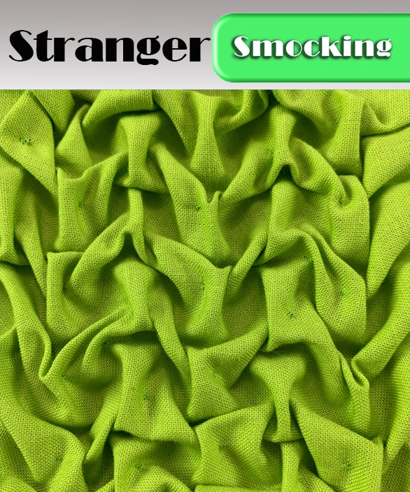 PDF - Heirloom Smocking Pattern - 21 - Stranger
