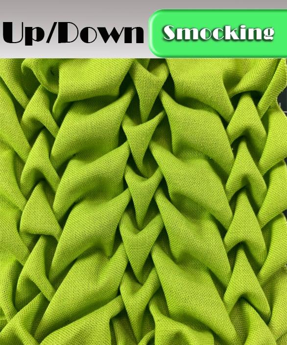 PDF - Heirloom Smocking Pattern - 22- UpDown