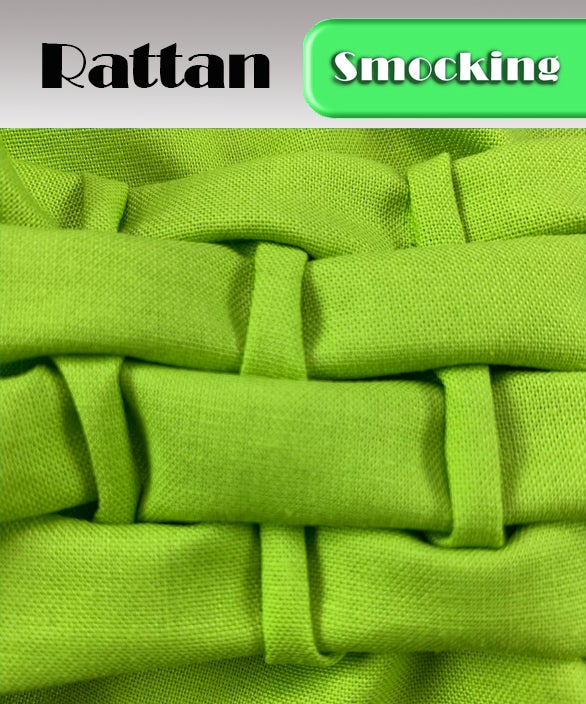 PDF - Heirloom Smocking Pattern - 23 - Rattan