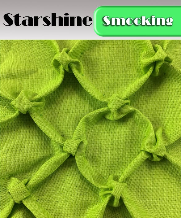 PDF - Heirloom Smocking Pattern - 24 - Starshine