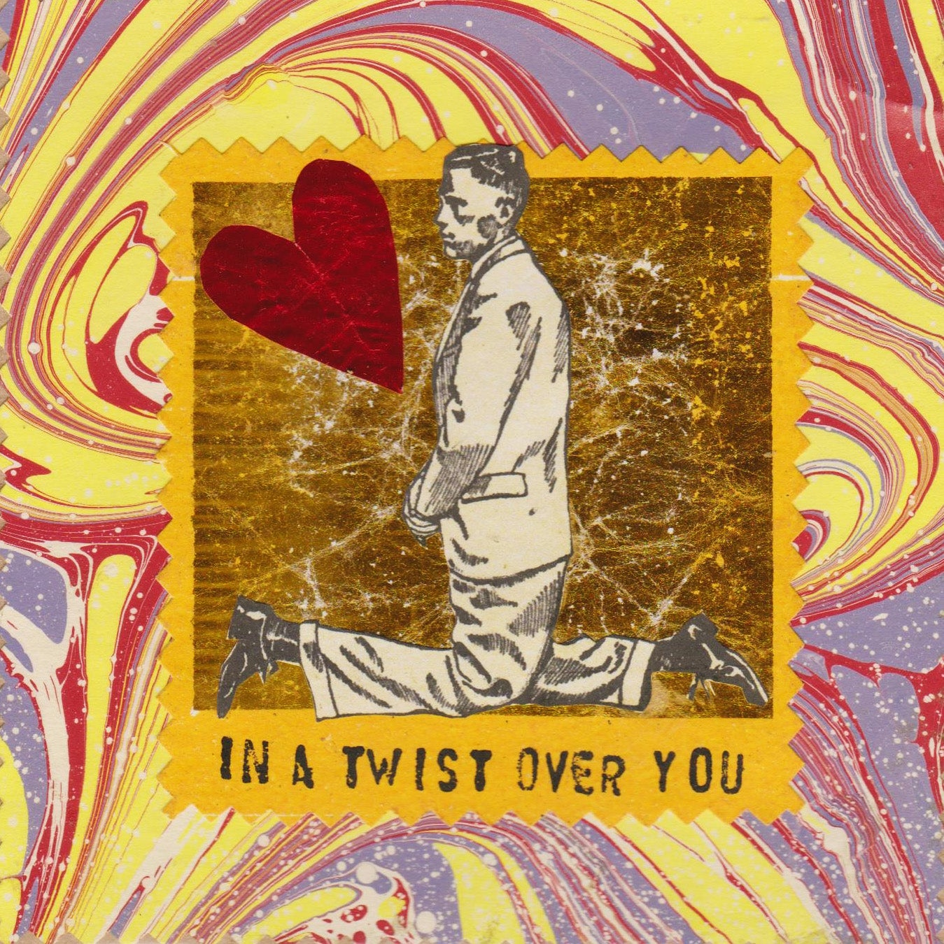 Image of In a twist over you  #2045