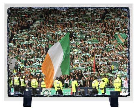 Celtic Fans Tri-Colour Slate