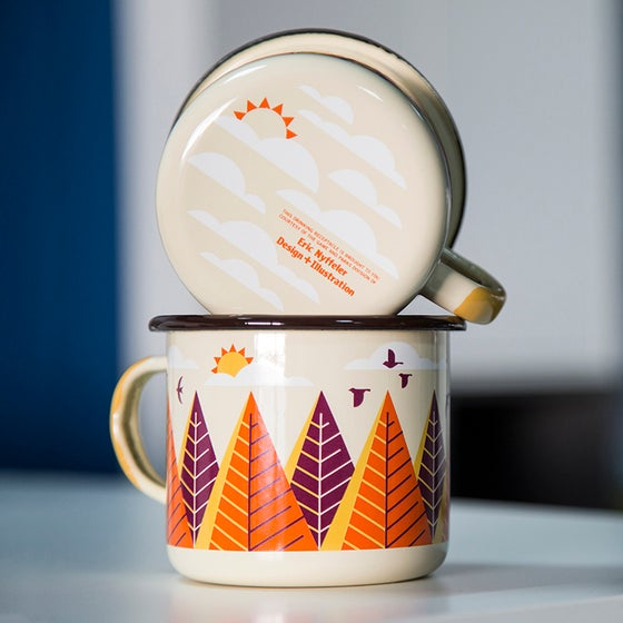 Image of Enamel Camp Mug