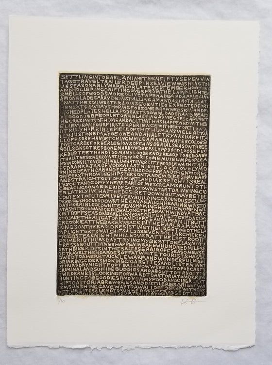 Image of Ben Berres Earl Etching 1/10