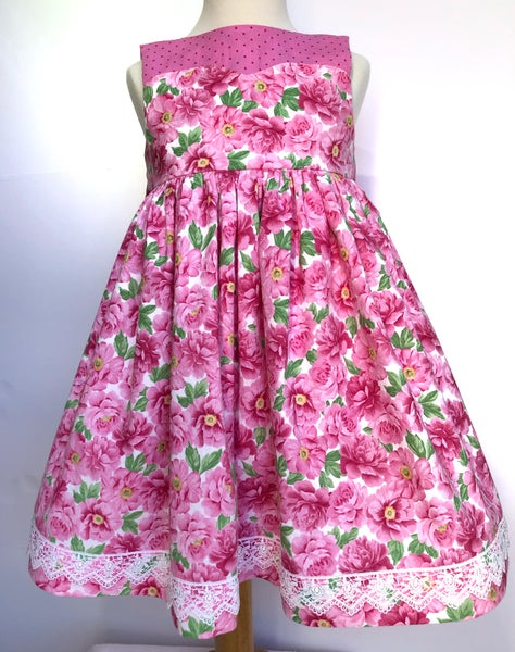 Image of Pink Floral    RTS size 6 only