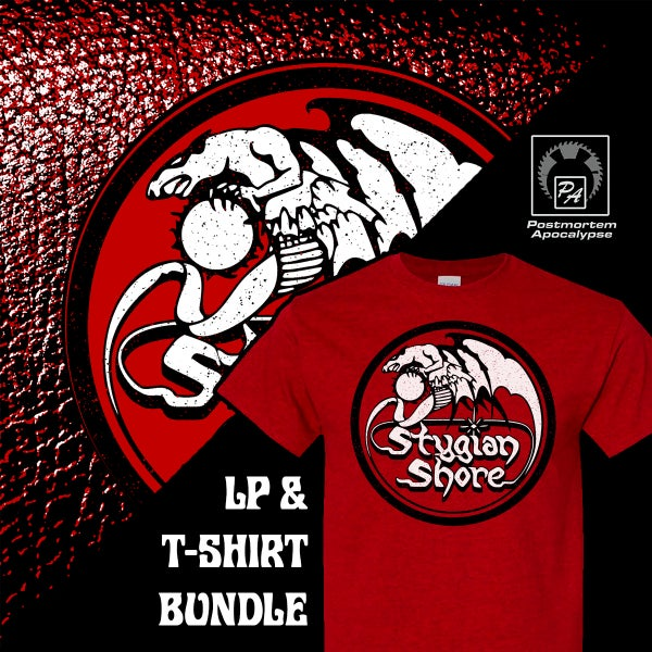 Image of Stygian Shore LP / Shirt bundle
