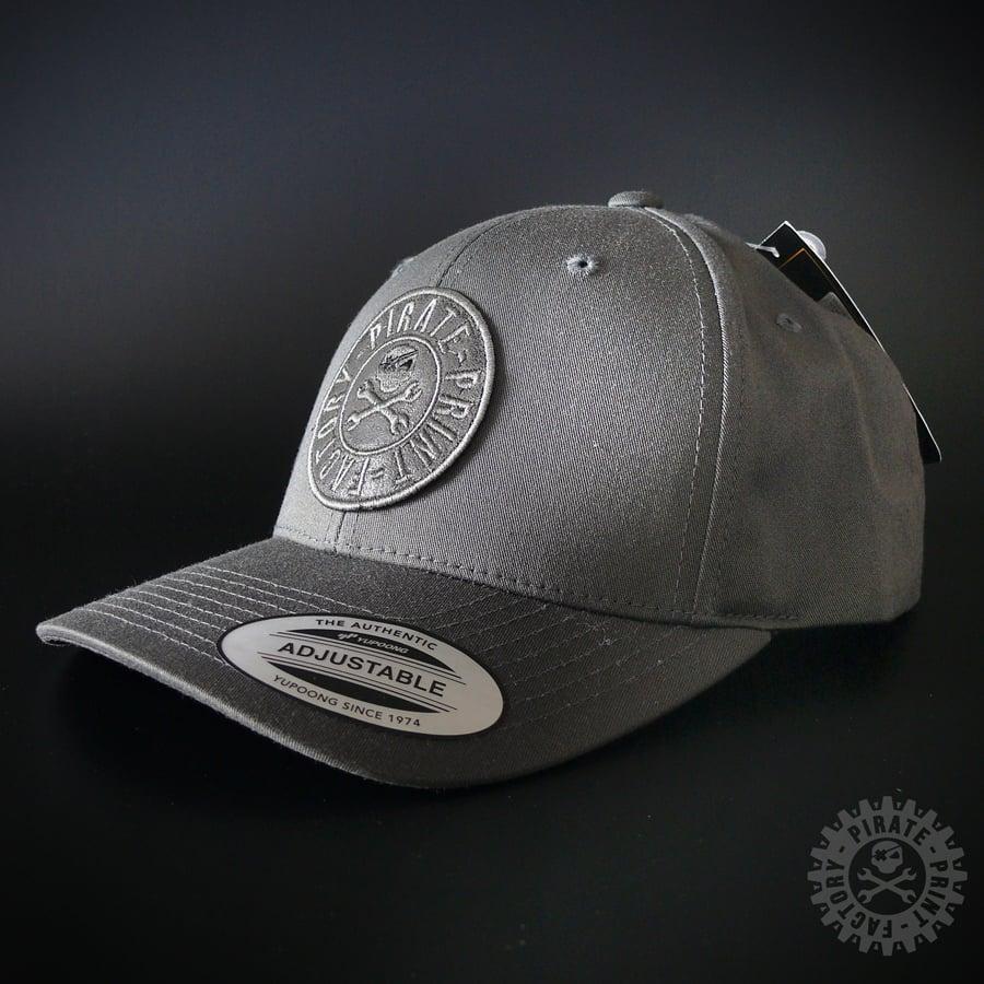 Image of ADJUSTABLE CAP STAMP DARK GREY