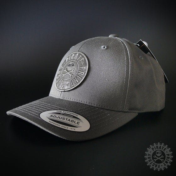 Image of ADJUSTABLE CAP STAMP DARK GREY