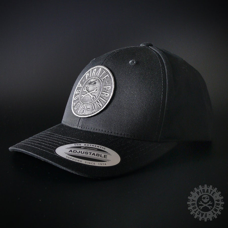Image of ADJUSTABLE CAP STAMP BLACK