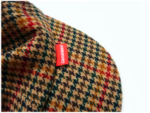 Image of 'SCRAMBLE' CAP [HOUNDSTOOTH]
