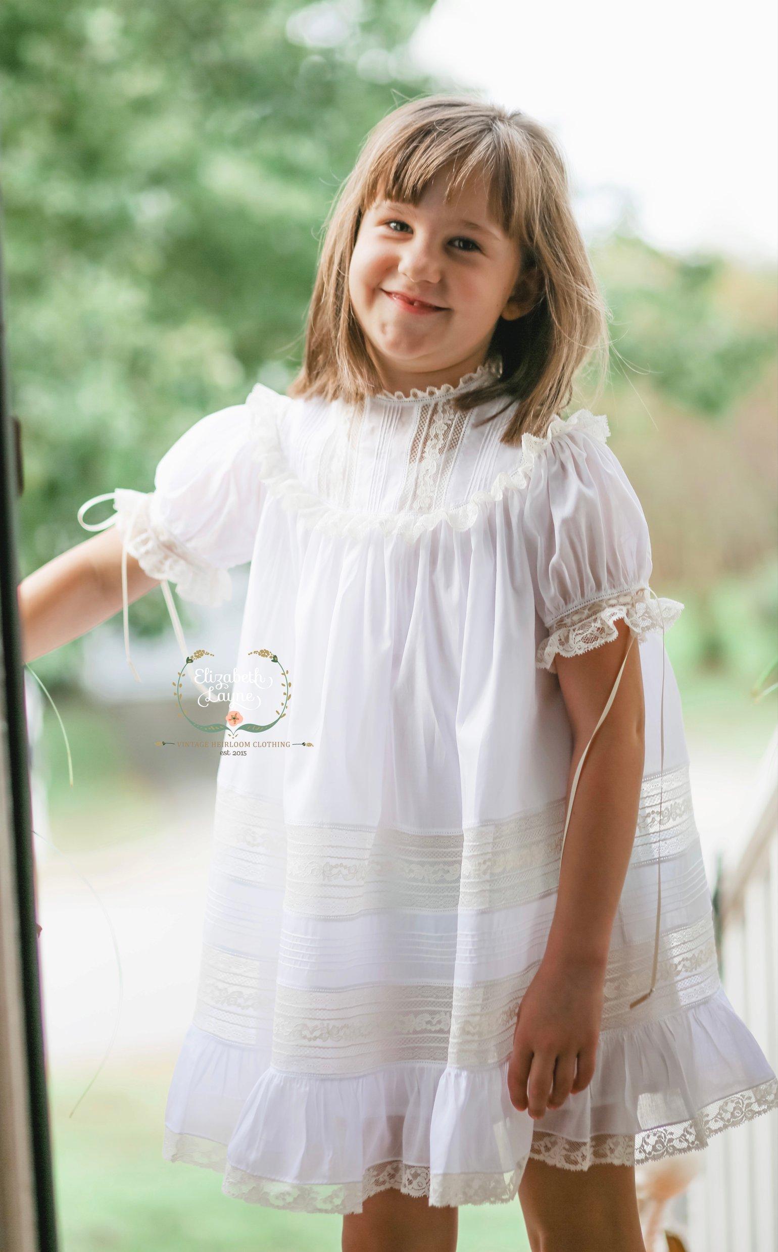 Image of Adelaide Heirloom Dress