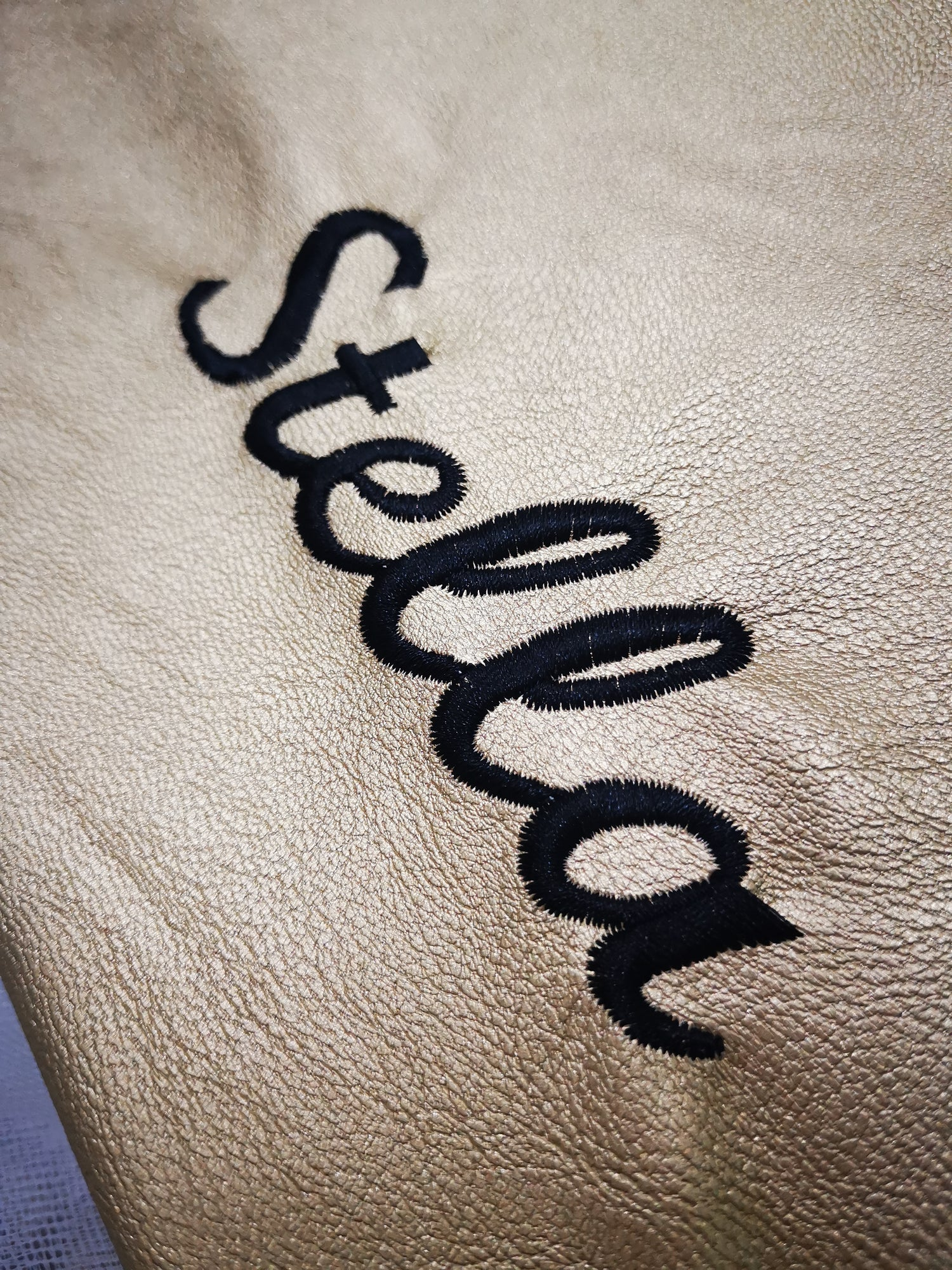 Image of Solé Golden Shopper - Embroidered with your name