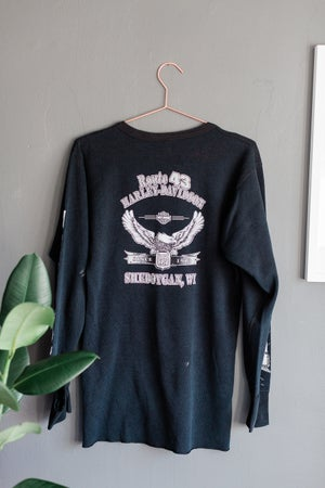 Image of 00's Harley Davidson Route 43 Long Sleeve Thermal