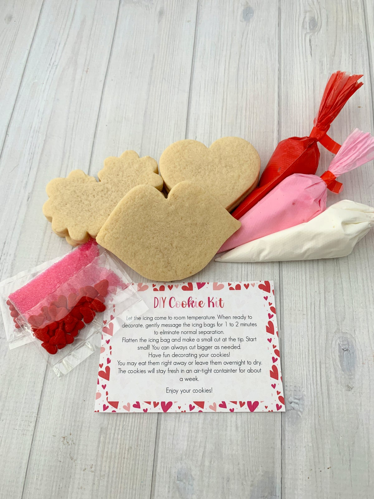Image of Valentine's Cookie Kit