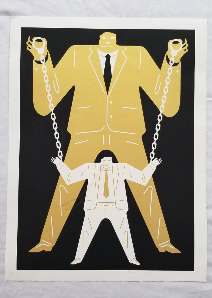 Image of Cleon Peterson Little Man Big Man Putin / Mueller Gold