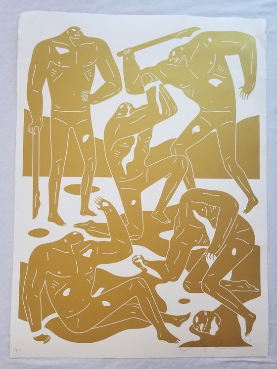 Image of Cleon Peterson MERCENARIES WHITE small damage
