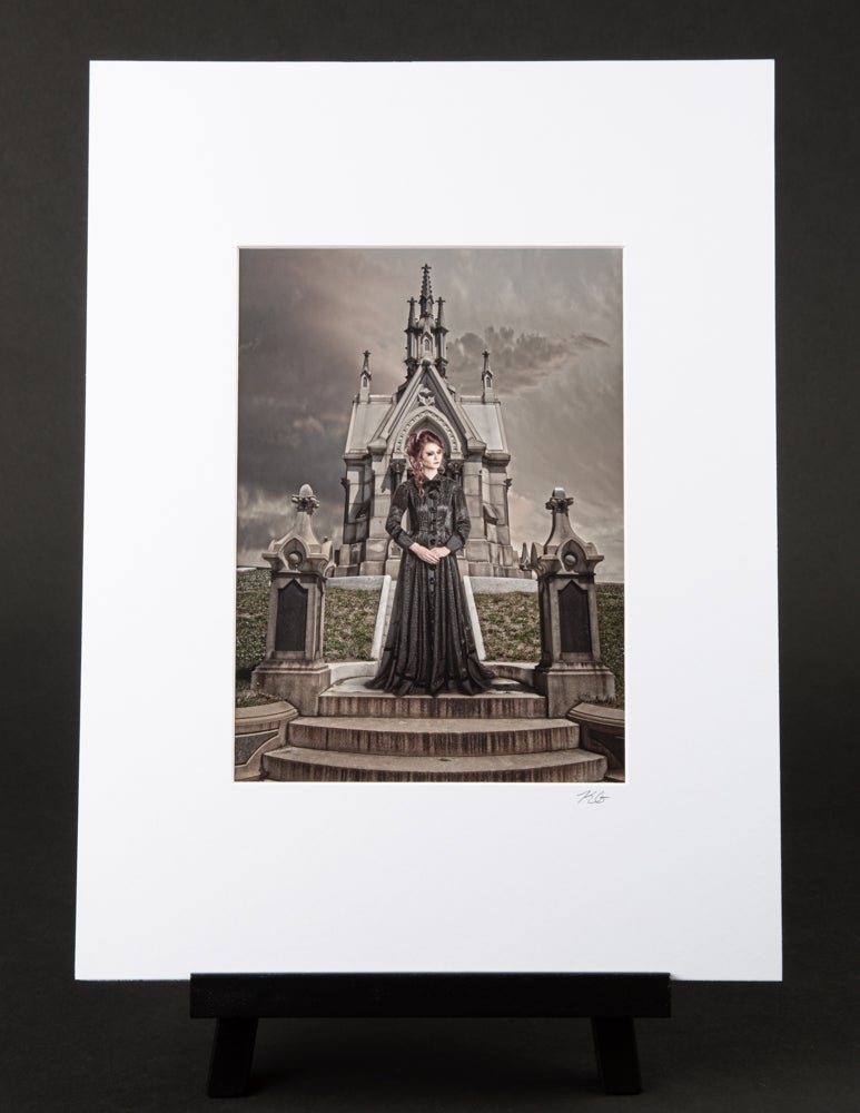 The Stepsister: Peace Be With You Matted Print