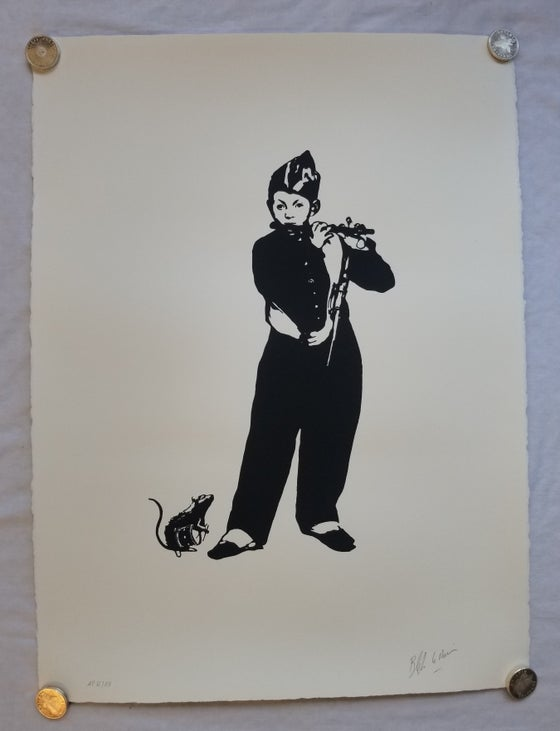 Image of Blek Le Rat The Pied Piper Artist Proof AP