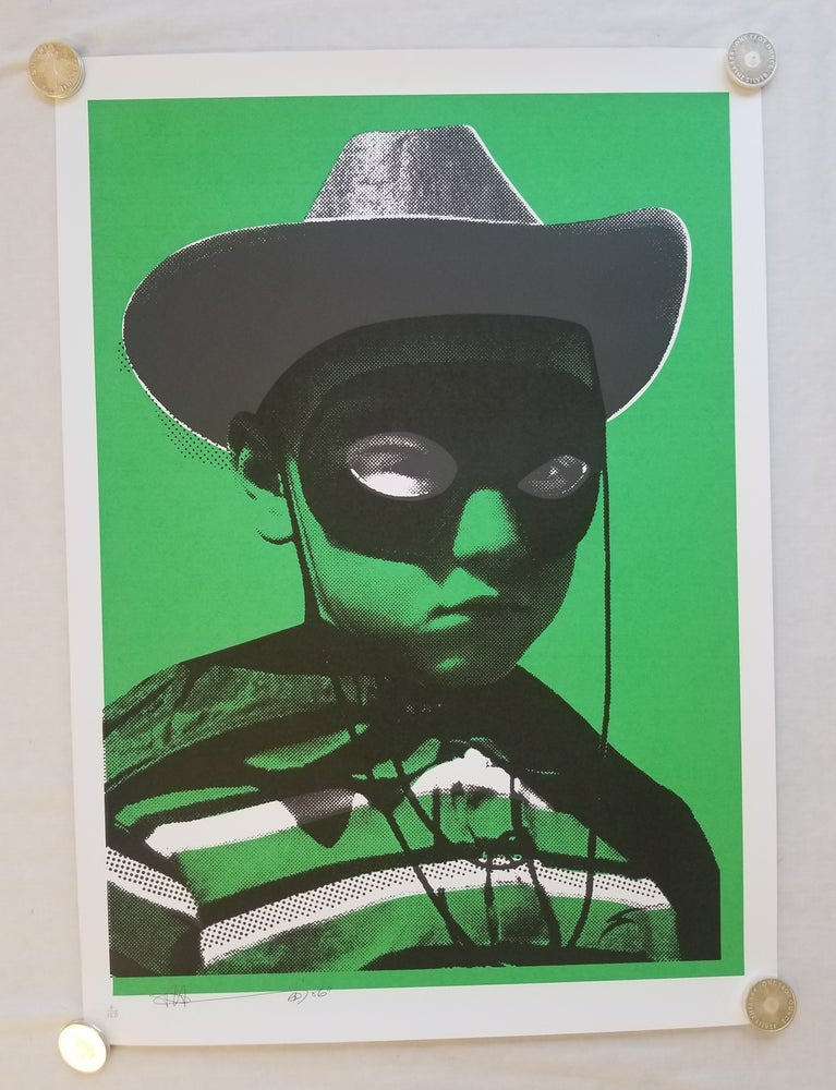 Image of Paul Insect BIG HEAD - GREEN